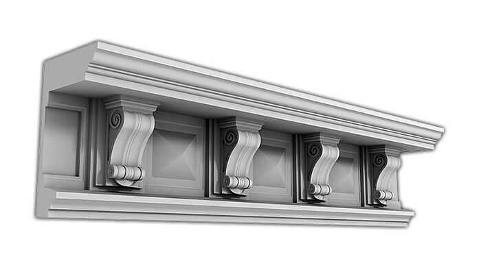 Фибробетон карнизы заказать силиконовые формы для бетона